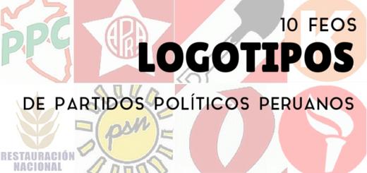 10 feos logotipos de partidos políticos peruanos