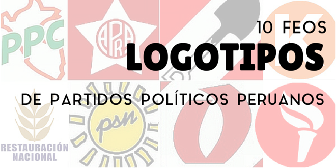 000-10 feos logotipos de partidos políticos peruanos