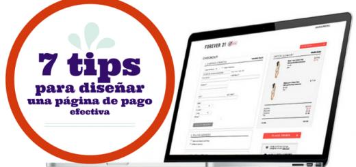 7 tips para diseñar una página de pago efectiva