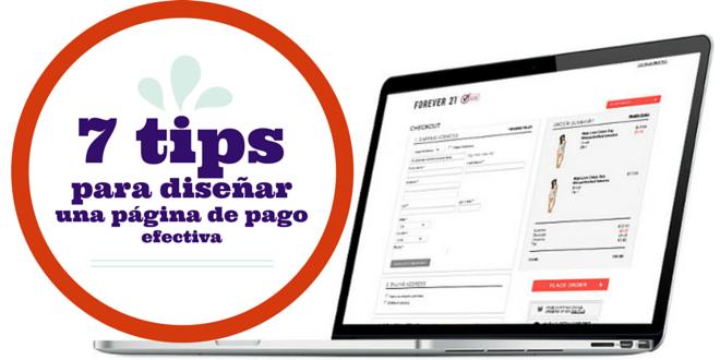 00_7 tips para diseñar una página de pago efectiva