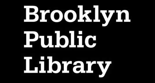 El logo de la Biblioteca Publica de Brooklyn fue reemplazado a comienzos de este año, en parte porque no se ajustaba bien en dispositivos móviles.