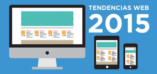 Tendencias diseño páginas web 2015