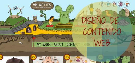 Diseño de contenido web