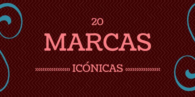 20 MARCAS ICÓNICAS