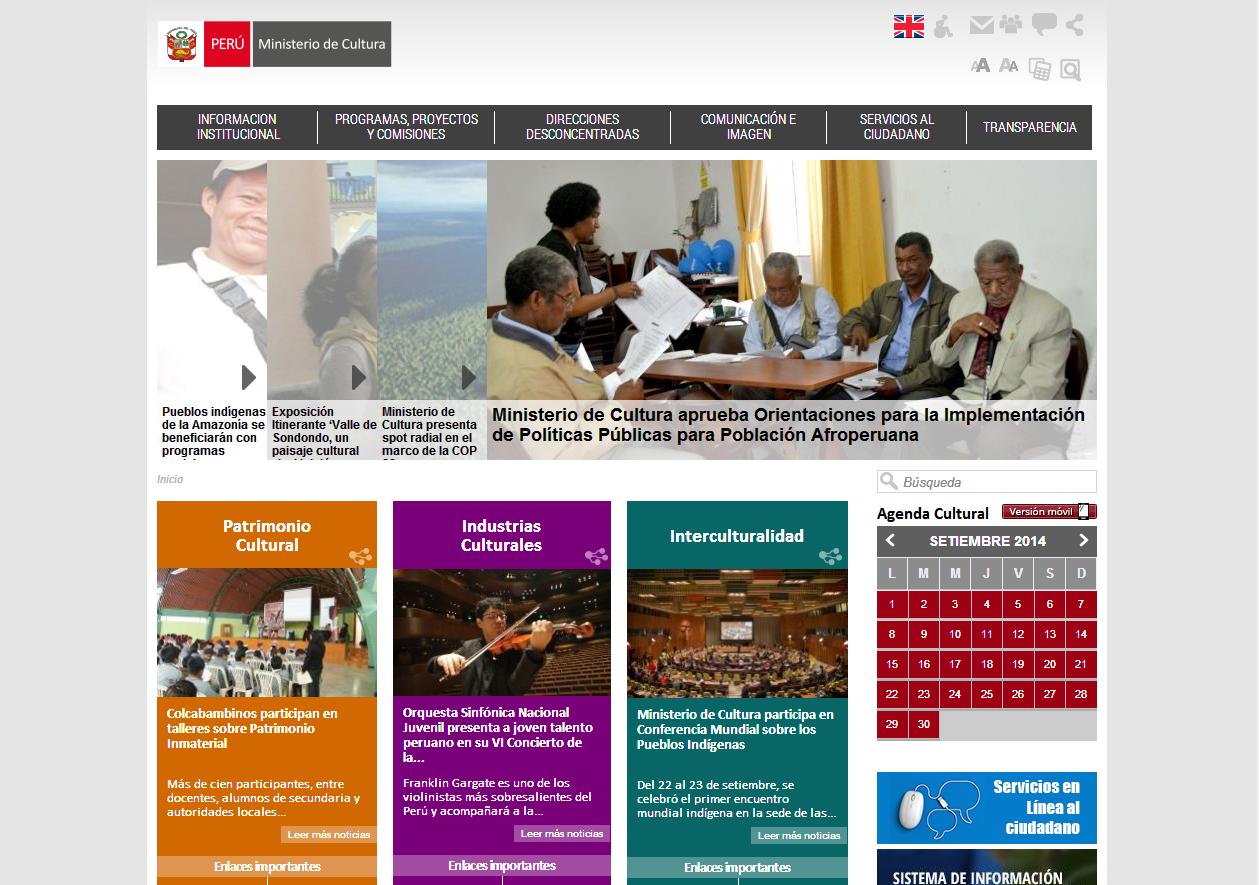 5 p ginas web del estado peruano que necesitan un redise o