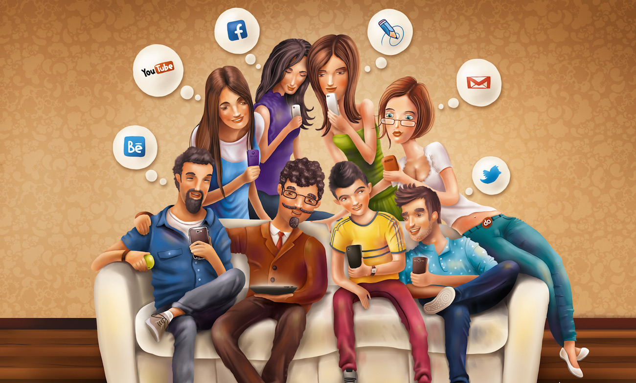 participar en redes sociales