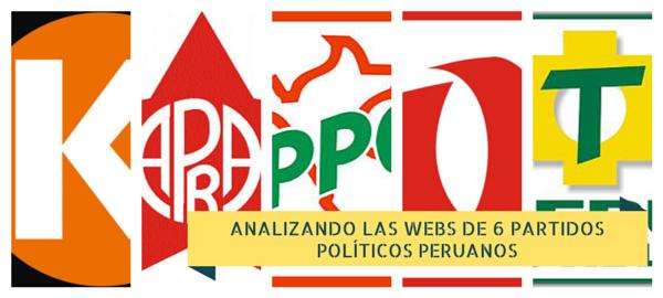 analisis webs 6 partidos politicos peruanos