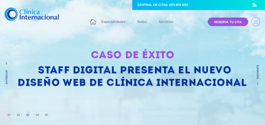 Clinica Internacional web