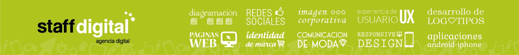 Staff Digital - Diseño de Páginas Web - Imagen Corporativa - Redes Sociales