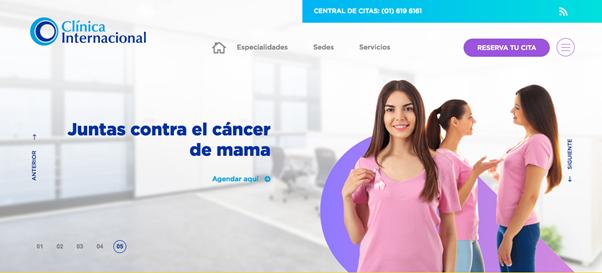 Clinica Internacional banners