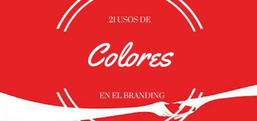 21 usos de colores en el branding