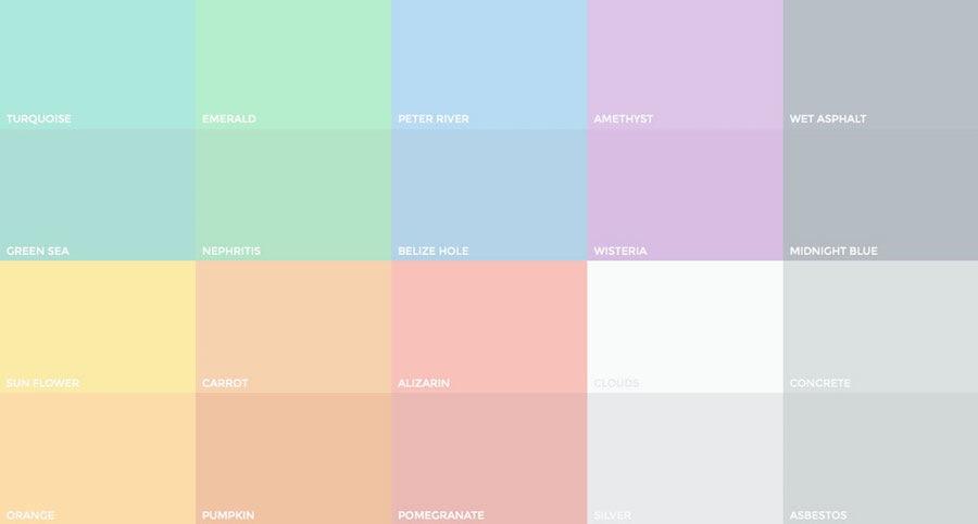 Páginas Web: Mejora El Poder De Los Colores Pastel