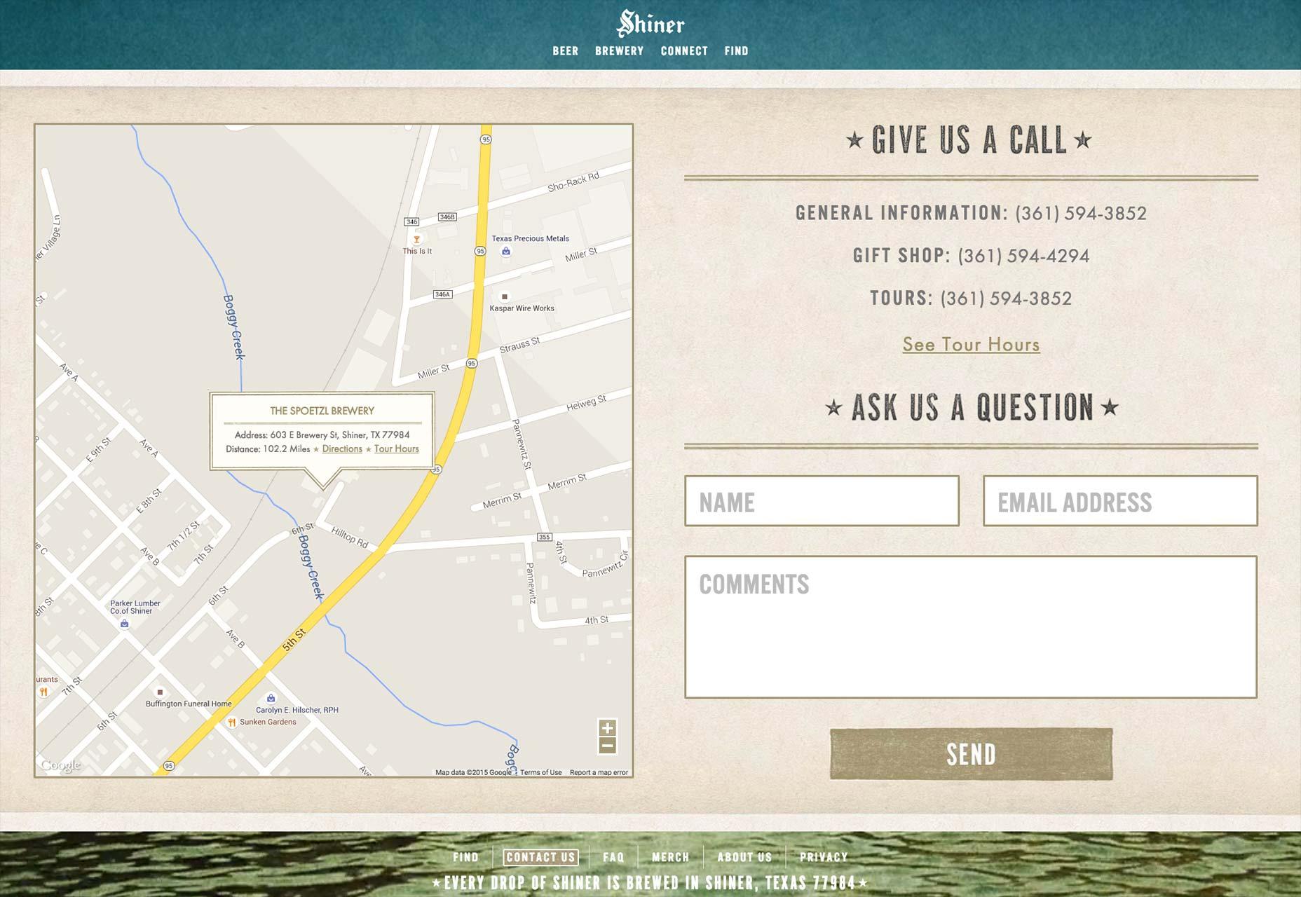Páginas web: Cómo diseñar la página de contacto perfecta | Buenas ...