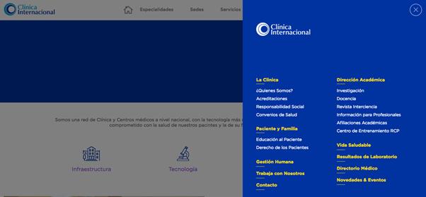 Clinica Internacional informacion