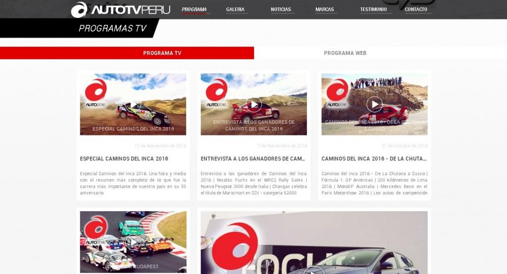 El Top 4 de las páginas webs peruanas sobre autos