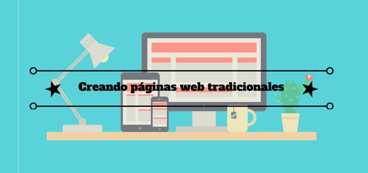 páginas-web-tradicionales