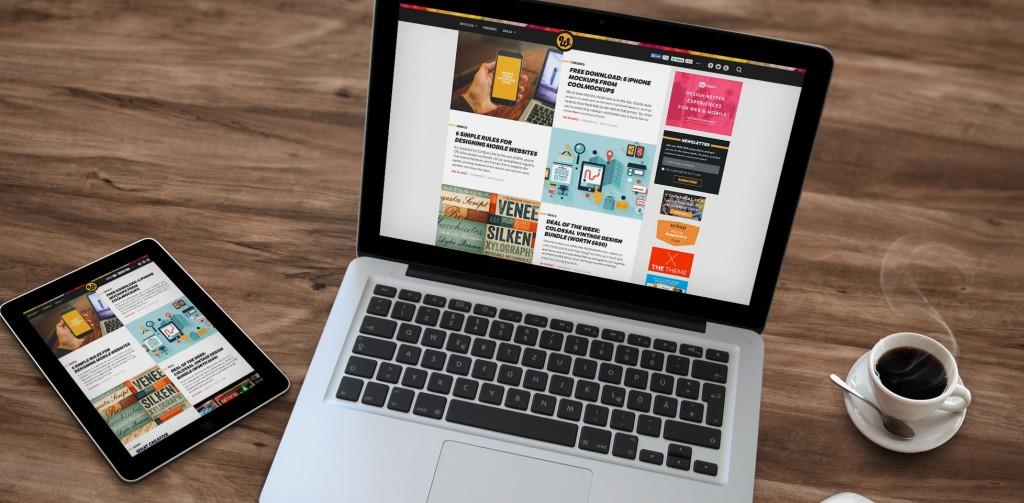 colores brillantes tendencias diseño web